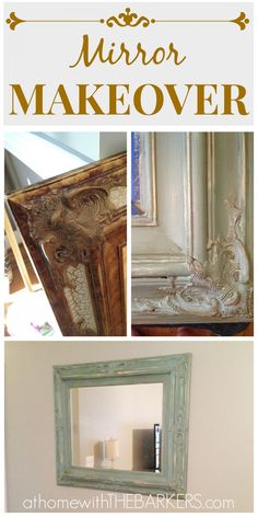 Mirror Makeover - At Home With The Barkers