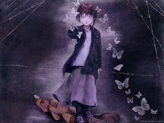 butterflies/girl