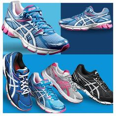 Shop the new and improved ASICS GT-1000 2 running shoes, equipped with structured cushioning for a smooth ride shoes, fashion place, women fashion, shops, news, fashion looks, families, running, eyes