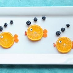 Fun fish fruit for kids  #provestra