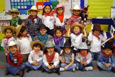 Celebrate Western Day with your class at end of western unit.  Dress up, special snacks, stick pony races and more at www.pre-kpages.com
