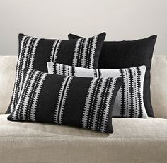 Restoration Hardware Moroccan Atlas Pillow Cover Collection
