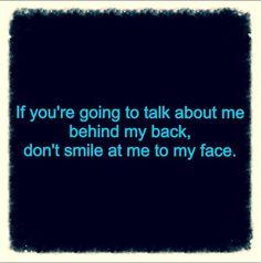 Don't be fake :)