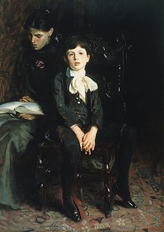 John Singer Sargent (American, 1856-1925)    Portrait of a Boy    1890