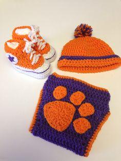 Clemson Tigers on Pinterest Cross Stitches, Needlepoint ...