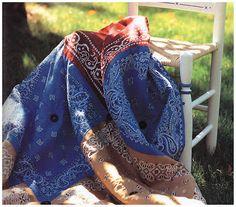 DIY - Bandana Blanket