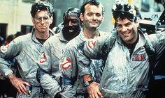 The Ghostbusters (Harold Ramis, Ernie Hudson, Bill Murray and Dan Ackroyd)