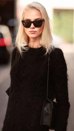 Sasha Luss | Model Off Duty | street style