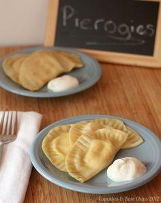 Potato Cheese and Pot Cheese (aka Farmer's Cheese) Pierogies   cupcakesandkalechips.com   #polishfood #homemade