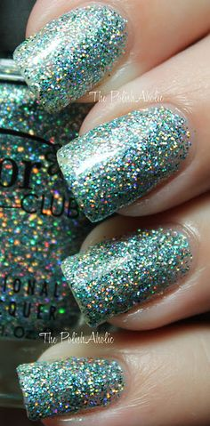 i want some sparkly nails please