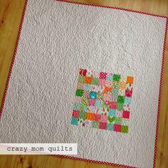 crazy mom quilts: elsa's quilt