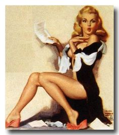 Petty pin up girls...CLASSIC!