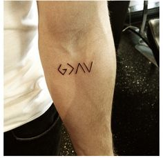 """""""God is greater than the highs and lows"""". Tattooed on Nick Jonas. Love!!"""