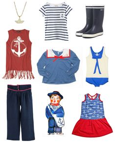 Nautical-inspired kids fashion :: WWF 2014