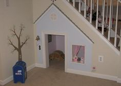 under the stairs fort
