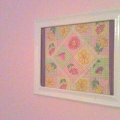 Framed patchwork