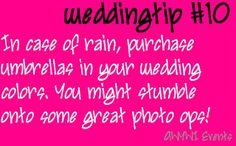 #wedding #tips #rainywedding