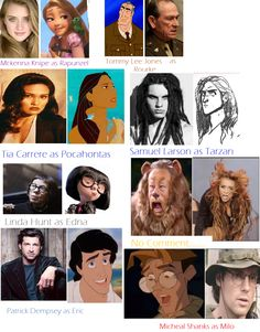 Disney look alikes?