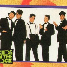 NKOTB...had this poster on my wall!!