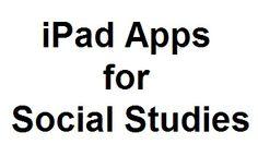 iPad apps for social studies