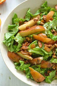 Autumn Pear Salad wi