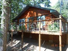 Caddo River Log Cabin Near Lake Ouachita & Canoeing New 2012