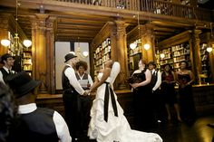Wedding Ceremony in the Othmer Library of Brooklyn Historical Society