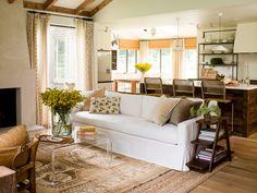 living/kitchen/dining floor plan