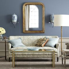 Love this mirror from Wisteria.