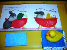 #Story_box idea for Little Rabbit's Bedtime:    How about a Classroom Story Box?  The story box can be sent home for a week at a time, to allow children to share with their families.