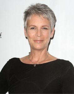 Jamie Lee Curtis - Grey hairstyles