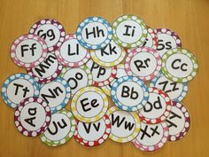 FREE Word Wall letters