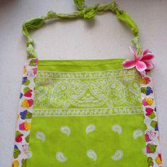 Birthday Bandana Duck tape purse
