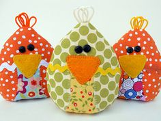 Chick-sicle Rice-Filled Cooling Pad tutorial by Just Another Hang Up #sew #diy #kids