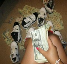 Wishing that was me with all that money and J's >.< !