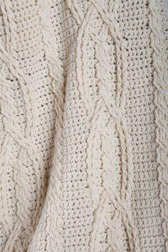 Celtic Knot Crochet Afghan