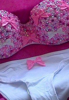 customis bikini, pearl, diamond customis