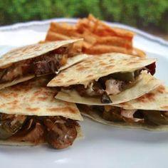Chipotle Cheesesteak Quesadillas