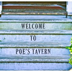 Poe's Taven is located on Sullivans Island and has great seafood and an amazing atmosphere!