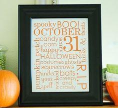 halloween printables!