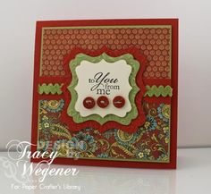Cool card with G45 Curiosity Shoppe papers.