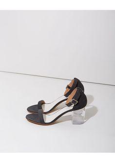 : lucite heels :