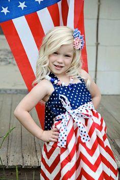 4th of july flower girl dresses
