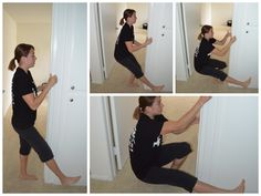 Working up to the pistol squat. squat variations.