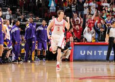 Goran Dragic is pumped up after delivering the dagger against the Lakers
