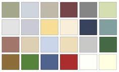 Historic Period Interior Design and Home Decor: The American Colonial Color Palette