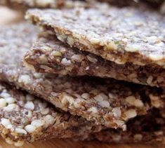 Hemp Seed Crackers