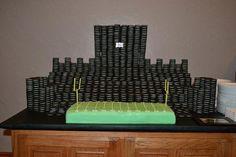 Fan Davin W.'s Oreo Groom's Cake. Congrats Devin!