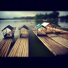 #lake Situ Gede #tasik #tasikmalaya #nature #water #bamboo #instanusantara - @sukmawanaggi- #webstagram