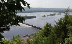 Vineyards and wineries are becoming popular attractions all along Wisconsin's Great River Road, that runs along the Mississippi River.